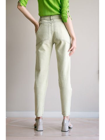 Eckhaus Latta EL Jean, Bleach Yellow