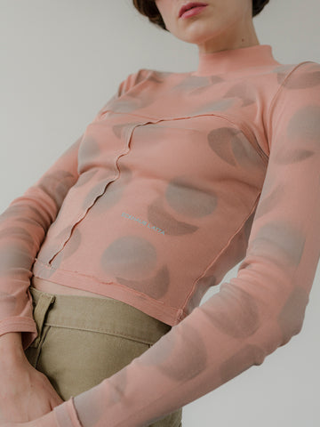 Eckhaus Latta Lapped Baby Turtleneck, Echo Dot