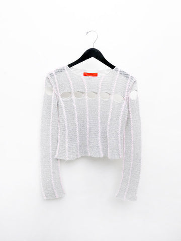 Eckhaus Latta Peaking Sweater, Poodle
