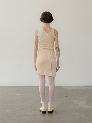 Eckhaus Latta Surface Dress, Peaches