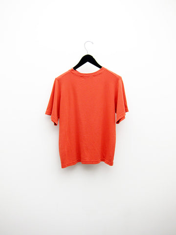 Elsewhere Color Theory Tee, Vermillion/Blue