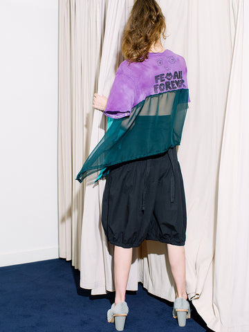 Femail Merch Tee No. 10, Purple Top