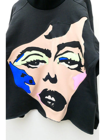 Francesca Longo Face Sweatshirt No. 3