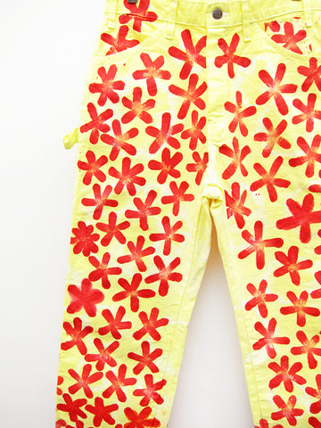 Frankie Krupa Vahdani Neon Lemonade Cherry Blossom Pant, All Over - Stand Up Comedy