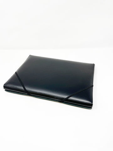 Isaac Reina A4 Covered Folder, Black