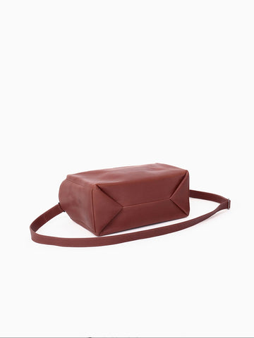 Isaac Reina Standard Mini Bag, Dark Honey
