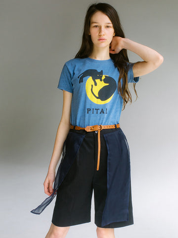 Kapital Jersey Catpital T, Indigo - Stand Up Comedy