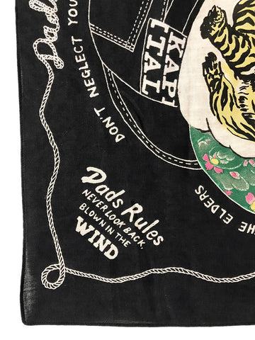 Kapital Fast Color Selvedge Bandana, Colorful Dad