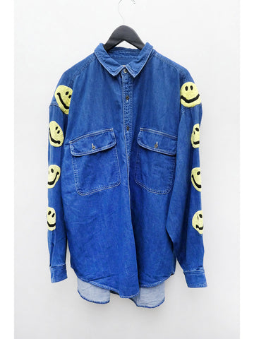 Kapital Grande Work Shirt, Smile