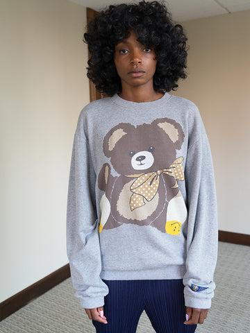 Kapital Kountry Jersey Sweatshirt, Bear with Smiley Socks