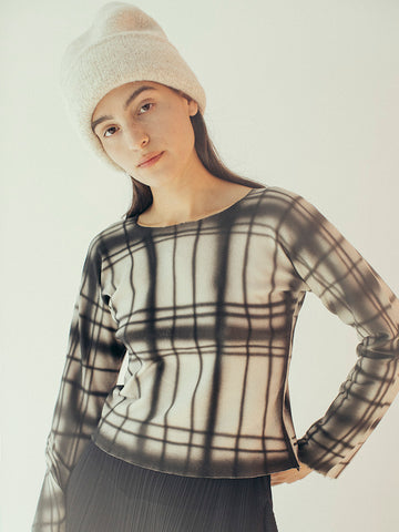 Alexa Stark Plaid Air Long Sleeve