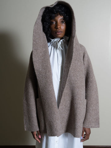 Lauren Manoogian Double Face Coat, Mouse