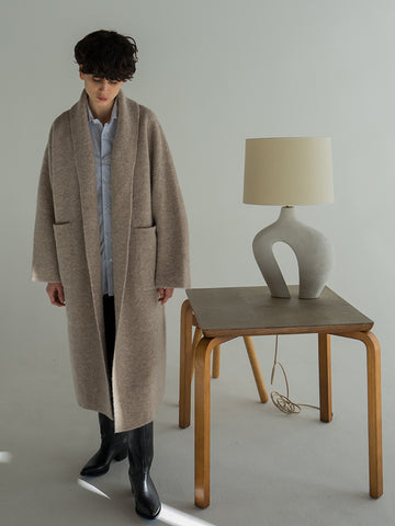 Lauren Manoogian Double Face Long Coat, Bale