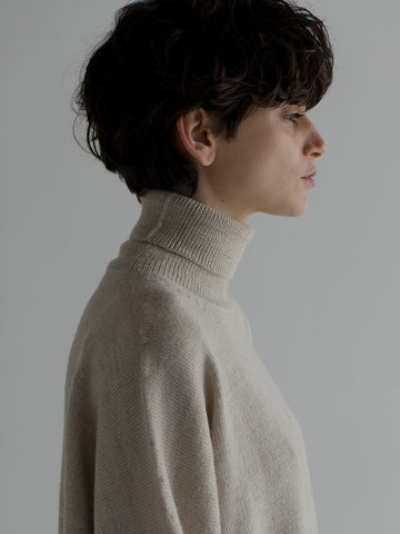 Lauren Manoogian Wide Turtleneck, Hessian