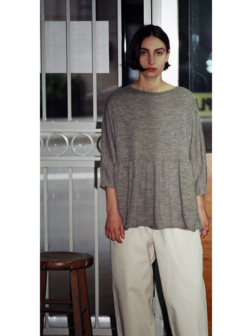 Lauren Manoogian Tier Pullover, Ink