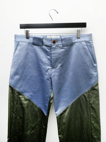 Linder Bader Long Pant, Blue/Green