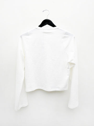 Linder Tula Long Sleeve Tee, White