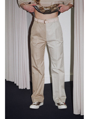 Maison Margiela MM6 Bi-Tonal Trouser