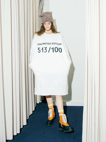 Maison Margiela MM6 Unlimited Edition Dress, White