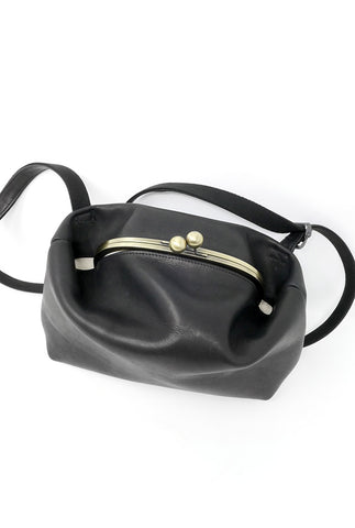 Macromauro Gamma Mini Bag, Black