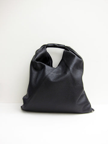 Maison Margiela MM6 Japanese Tote Bag, Grained Leather - Stand Up Comedy