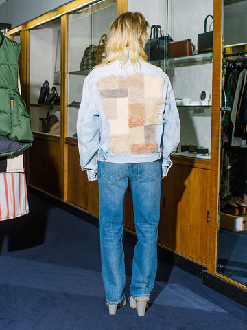 Milena Silvano Jean Jacket, Light Denim