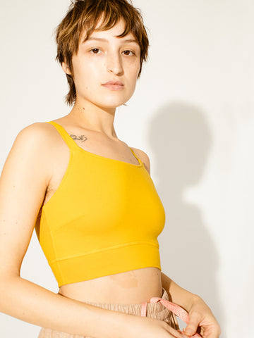 Pansy Sports Bra, Sunflower