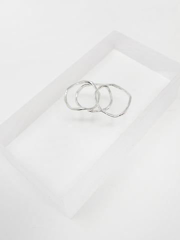 Paso Triple Ring Set