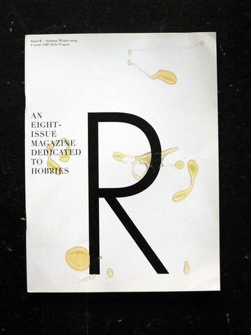 Provence: Issue R (Autumn/Winter 2009)
