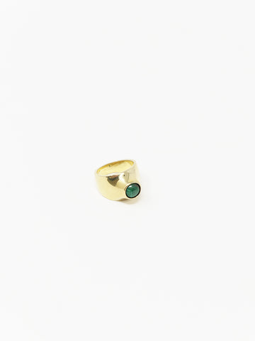 Quarry Grete Ring, Malachite