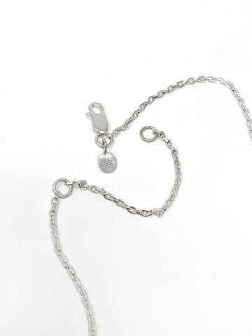 Quarry Maite Necklace, Silver