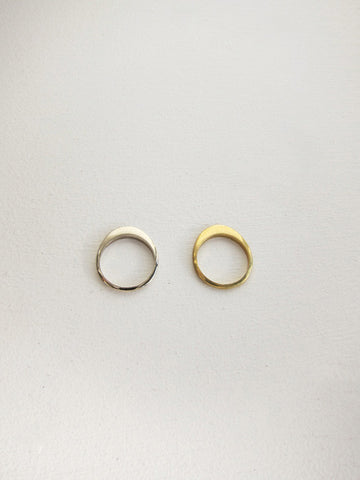 Cutout Ring #8, Gold Bronze