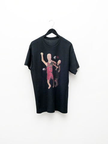 Stacy House Stacy's NBA, Short Sleeve T-Shirt, Black