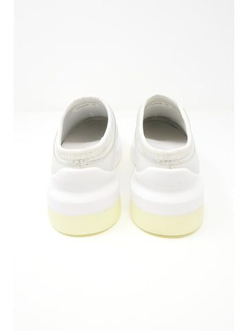 Suzanne Rae Clog Sneaker, White