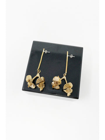 Yu Yu Shiratori Floral Drop Earrings