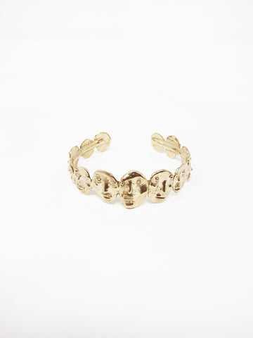 Yu Yu Shiratori People Bracelet, Brass