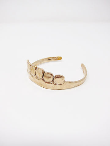 Yu Yu Shiratori Teeth Bracelet, Brass