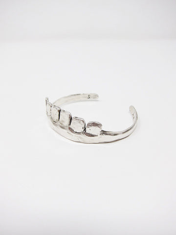 Yu Yu Shiratori Teeth Bracelet, Silver