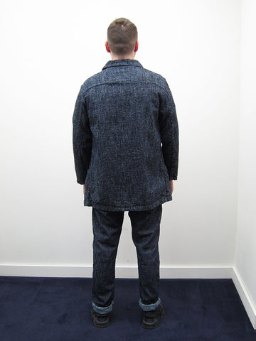 Mid-Length Catch All Jacket, Silk Nep Denim