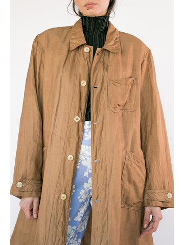 Zed Duster Jacket, Gold