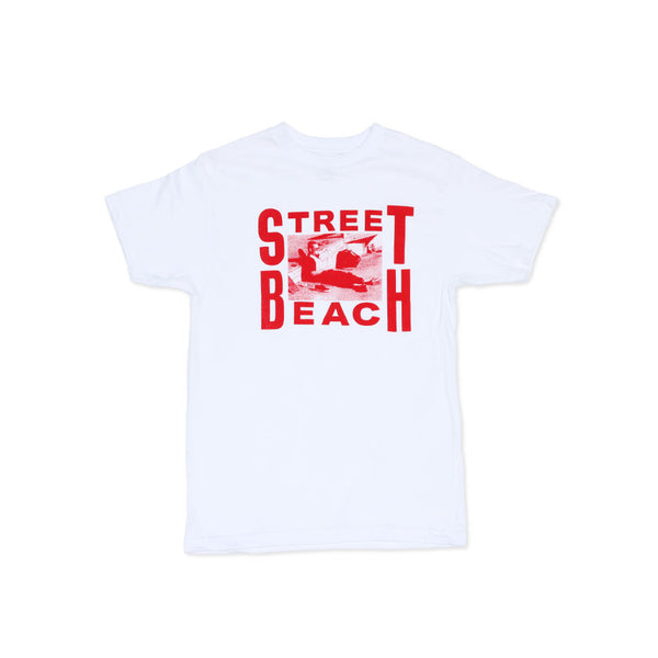 Street Beach T-Shirt White