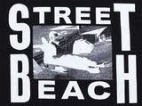 Street Beach T-Shirt Black