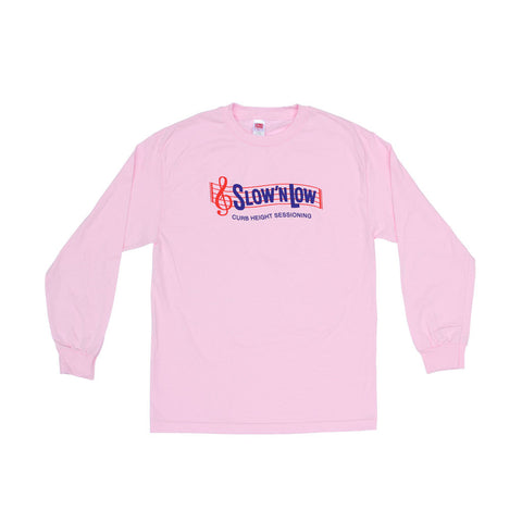 Slow N Low Longsleeve Pink