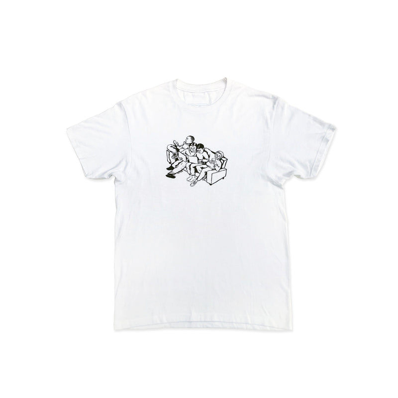 Couch Tee White