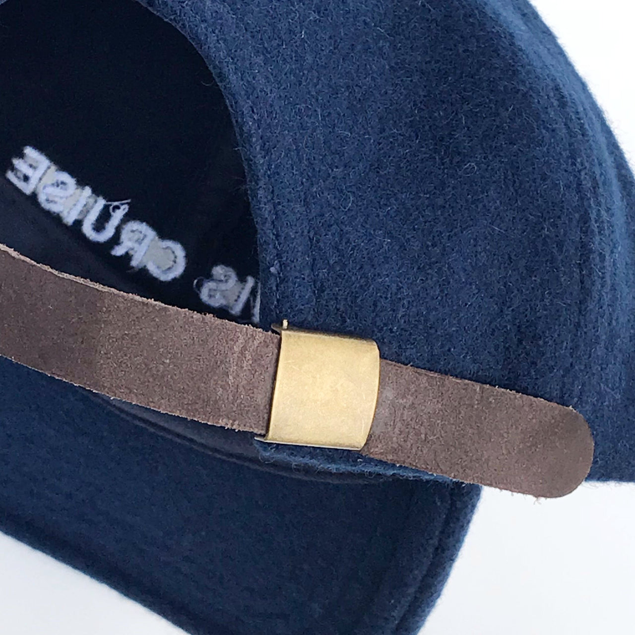 Lewis Cap Navy Wool