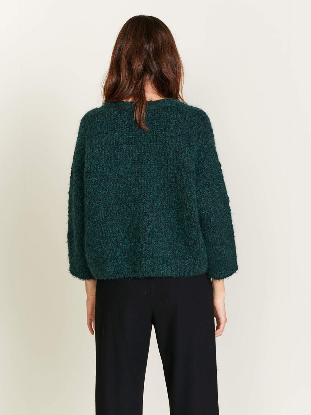 bellerose aclon sweater in kombu