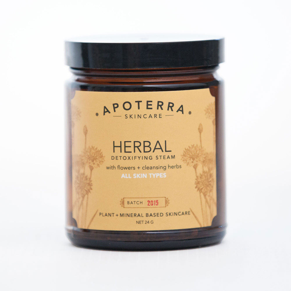 apoterra herbal detoxifying steam