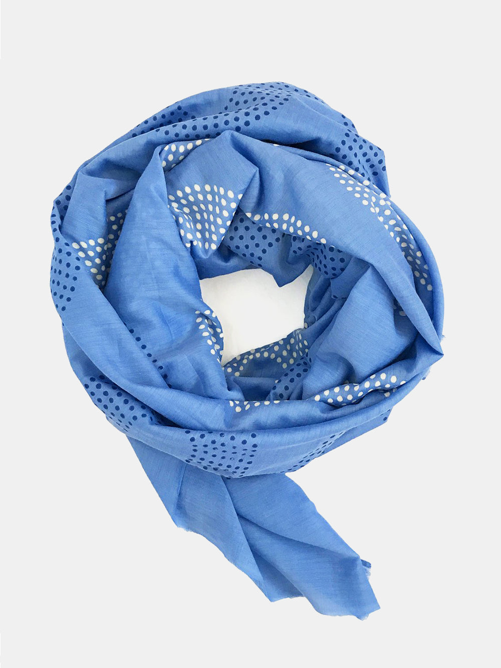 block shop arroyo scarf in aegean