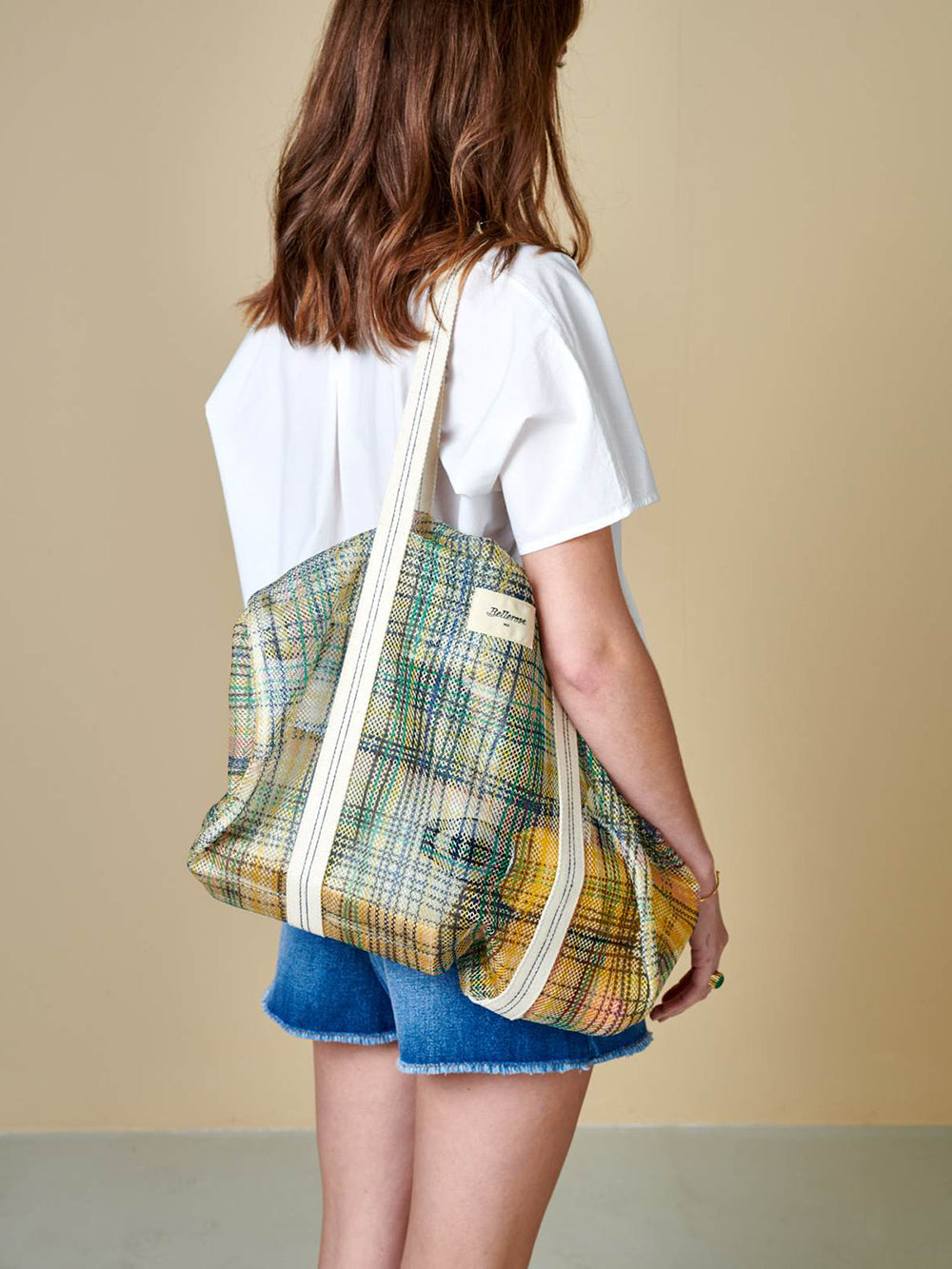 bellerose ladina bag in check a