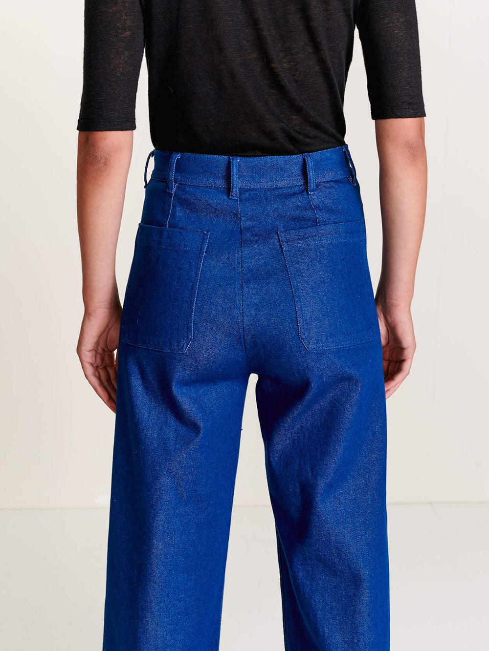 bellerose lotan pant in one wash